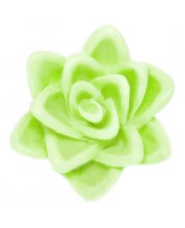"""""""Flor flutuante 7 cm."""" molde para fazer velas e sabonetes."""