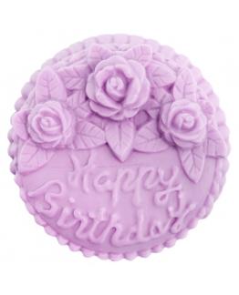 Molde de silicona Tarta de Cumpleaños