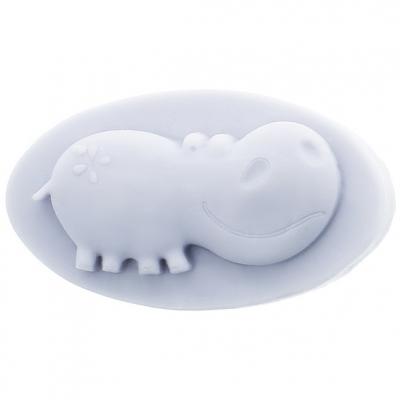 Molde para fazer sabonetes infantis Hipopótamo