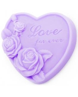 Molde de silicone love for ever
