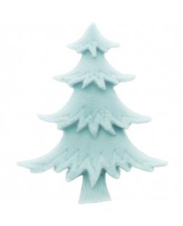Molde abeto plano navideño