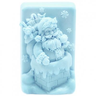 Molde sabonete de natal Santa Claus