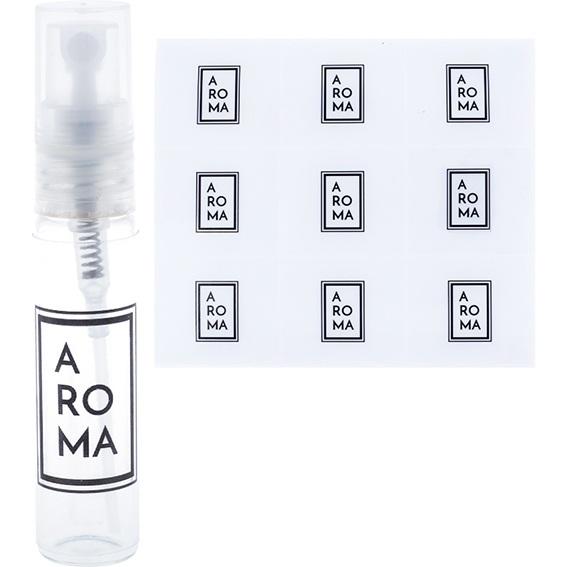 Adesivos minimais para perfume