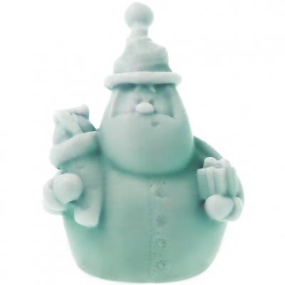 Molde de Pai Natal em 3D