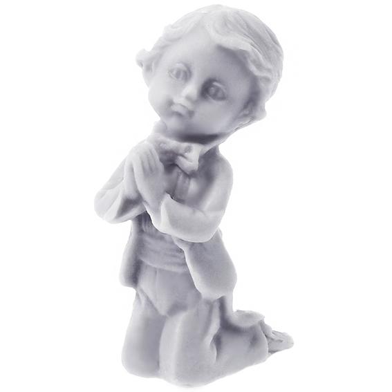 Molde niño rezando 3d
