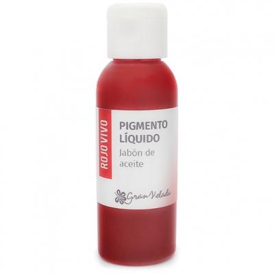 Corante liquido sabao de oleo pigmento vermelho intenso