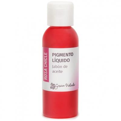 Colorante rosa chicle jabon de aceite pigmento liquido