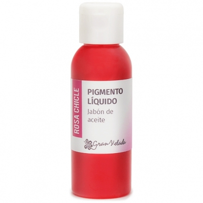 Corante liquido sabao de oleo pigmento rosa chiclete
