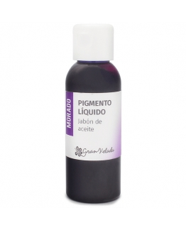 Colorante morado jabon de aceite pigmento liquido