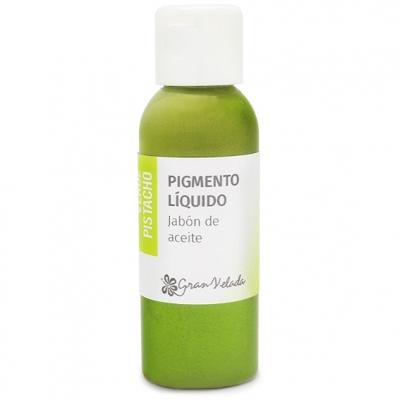Colorante verde pistacho jabon de aceite pigmento liquido