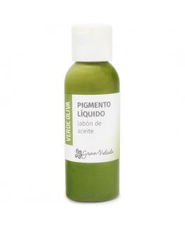 Colorante jabon de aceite pigmento liquido verde oliva