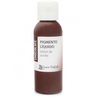 Corante liquido sabao de oleo pigmento marrom chocolate