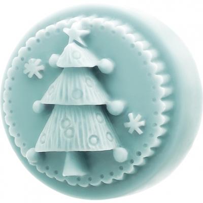 Molde jabon arbolito decorado