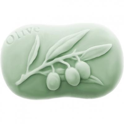 Forma silicone sabonete olive