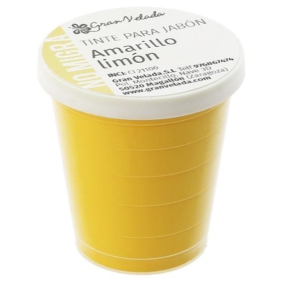 Tinta sabonete que nao migra amarelo limao em po
