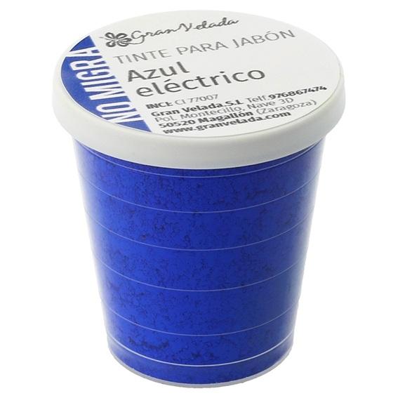 Tinta sabonete que nao migra azul intenso