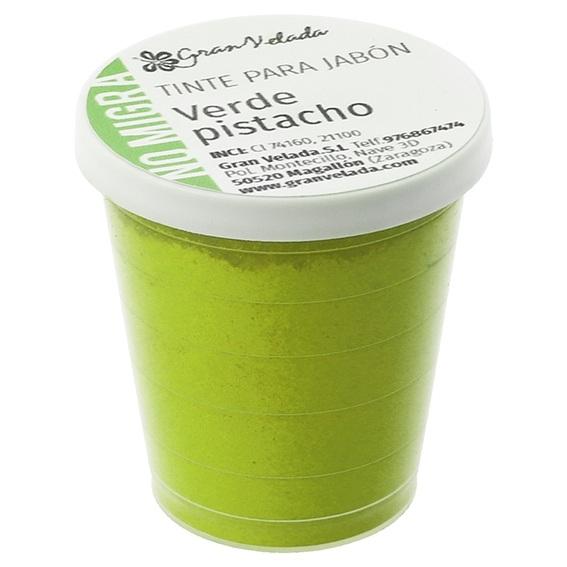 Tinta sabonete que nao migra verde pistache em po