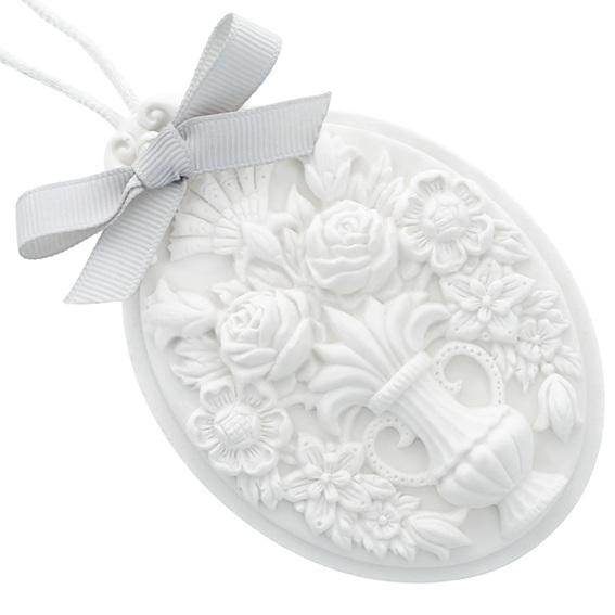 Molde barroco para ceramica perfumada