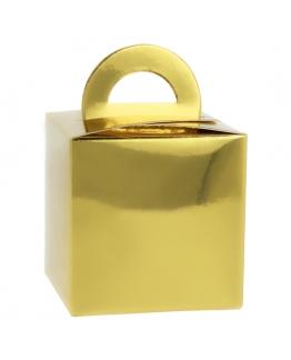 Mini Caixinha Presente Ouro