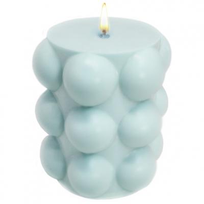 Cirio com Bolinhas, molde para fazer velas