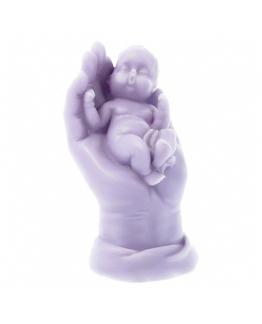 Molde mao aberta com baby