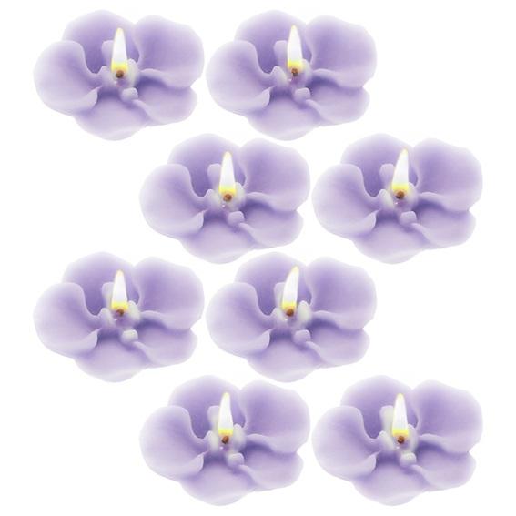 Molde silicone 8 orquideas