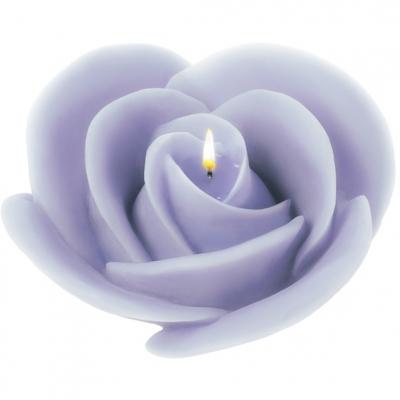 """Molde para fazer velas """"Rosa Grande"""""""