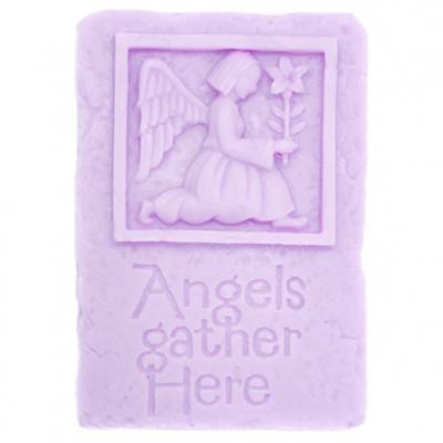 Forma para sabonete angels gather here