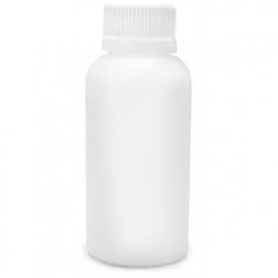 Garrafas PP translucidas tampa lacre 100 ml