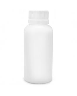Frasco plástico polipropileno tampa lacre 100ml