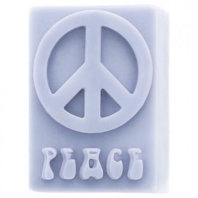 Molde de jabon simbolo de la paz