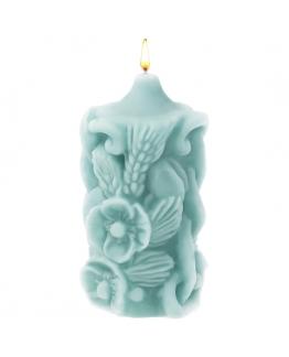 Vela de Trigo e Mel, molde de silicone para fazer velas