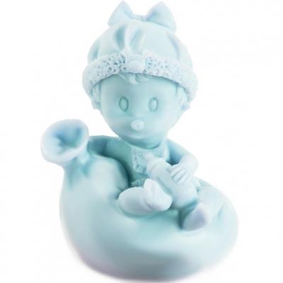 Bebê em balão, molde de para fazer sabonete