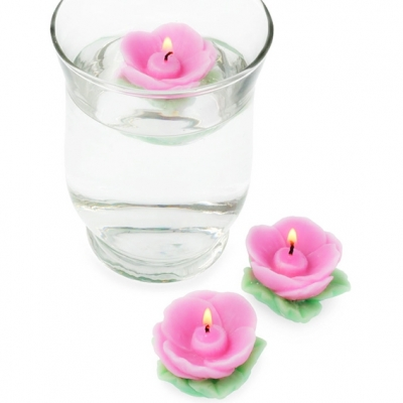 Kit como hacer velas flotantes. Materiales e instrucciones
