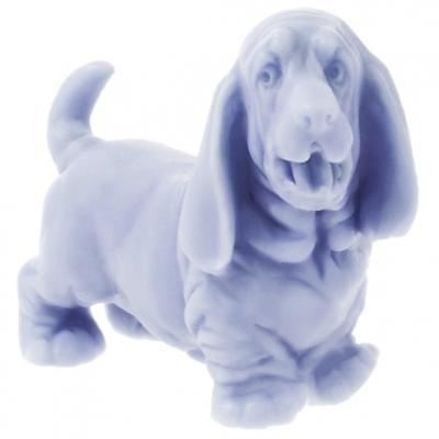 Molde perro teckel 3d