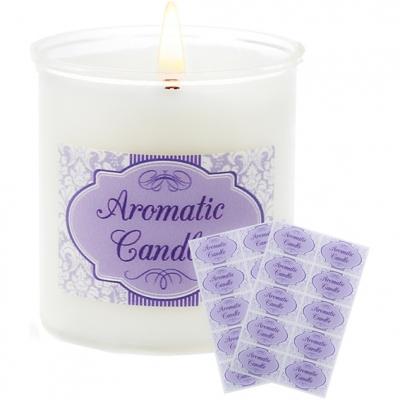 Adesivos aromatic candle para velas