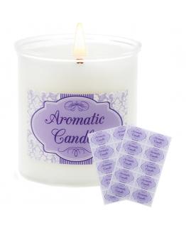 Pegatinas aromatic candle para velas