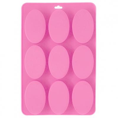 Molde 9 pastilhas ovaladas clássicas