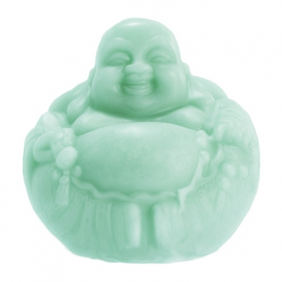 Molde para fazer sabão ou velas Buda redondo