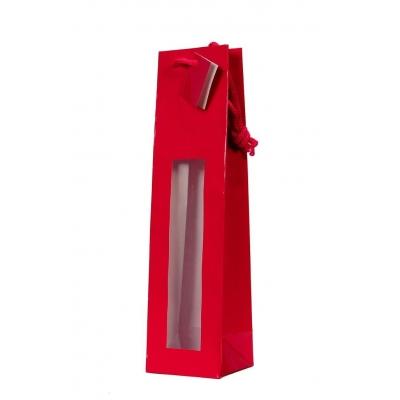 Bolsa Vermelha para garrafa 3/4 750 ml