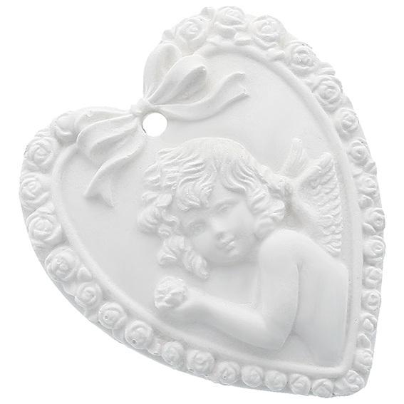 Molde ceramica perfumada angelito vintage