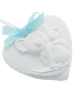Ceramica perfumada koala corazon