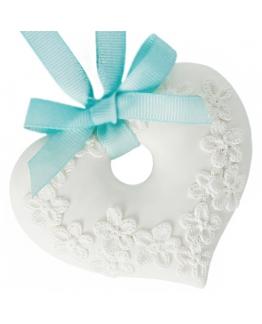 Ceramica perfumada corazon para colgar