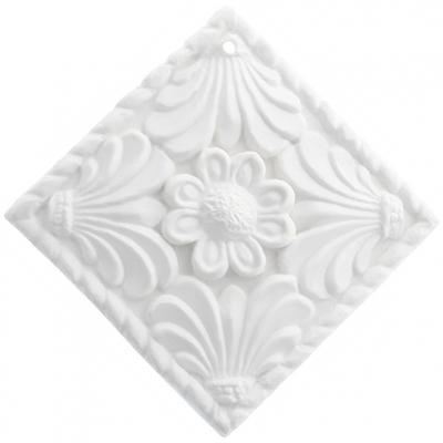 Molde ambientador decorativo cuadrado flor