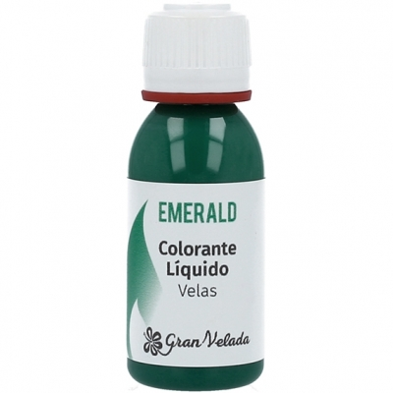Colorante liquido velas emerald
