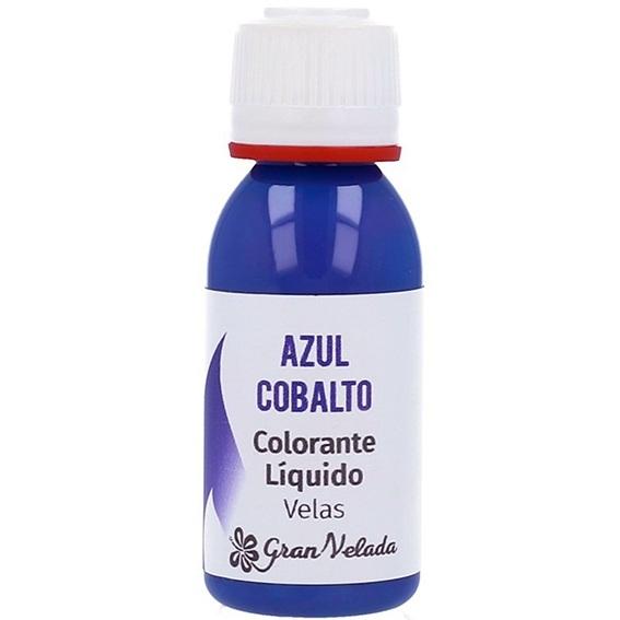 Corante liquido velas azul-cobalto