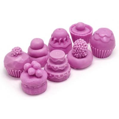 Molde para hacer velas pastelitos