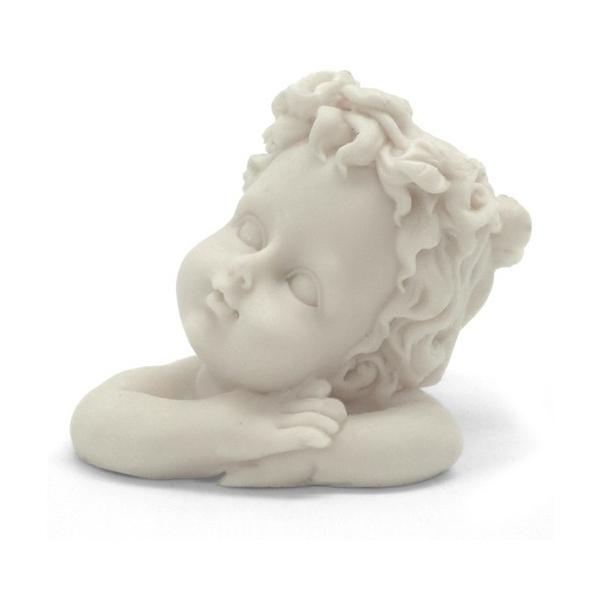 Molde para hacer jabones con forma cl sica de busto angelito - Angelitos de yeso ...