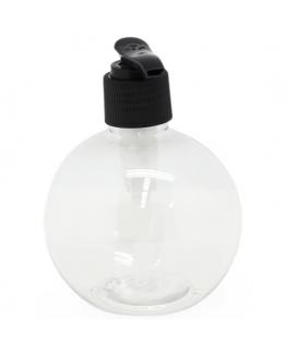 Frasco pet sphere dosificador de cana preto