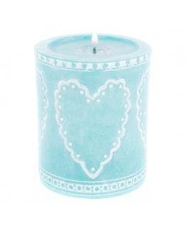 Molde vela romantic